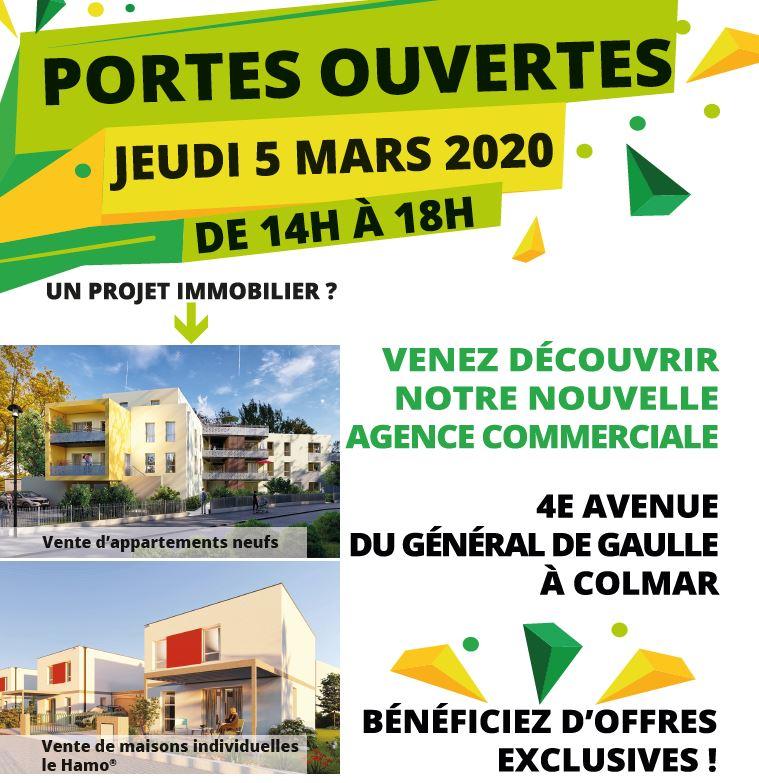 Portes ouvertes 5 mars 2020