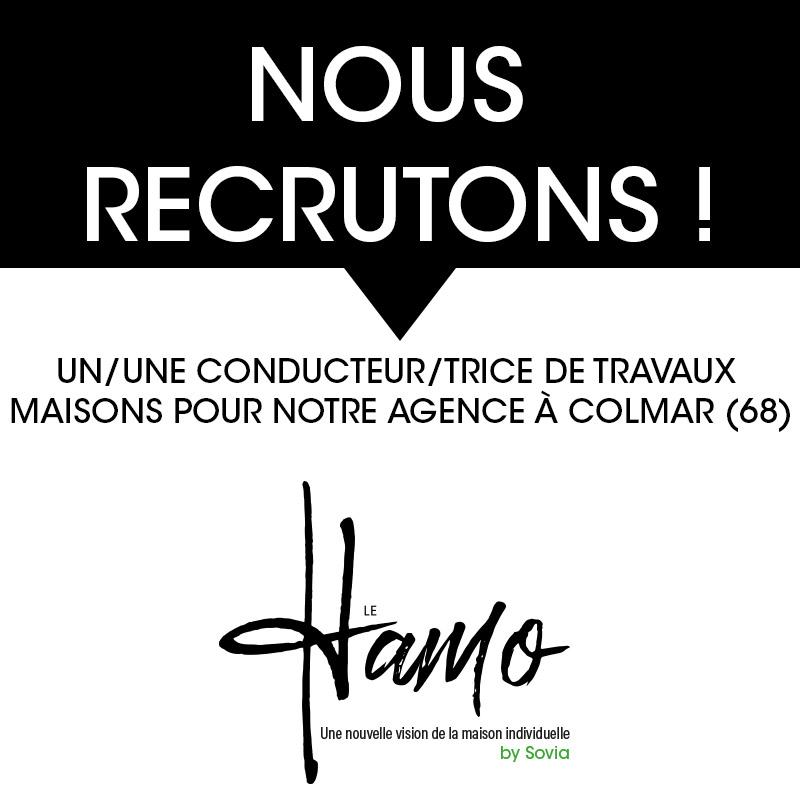 Maison Le HAMO - Nous recrutons